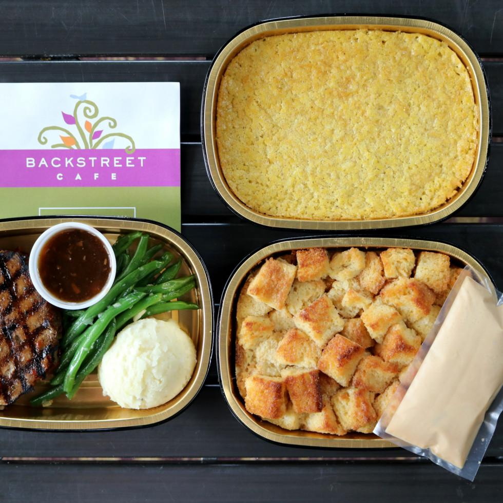 Backstreet Cafe H-E-B takeaway meals