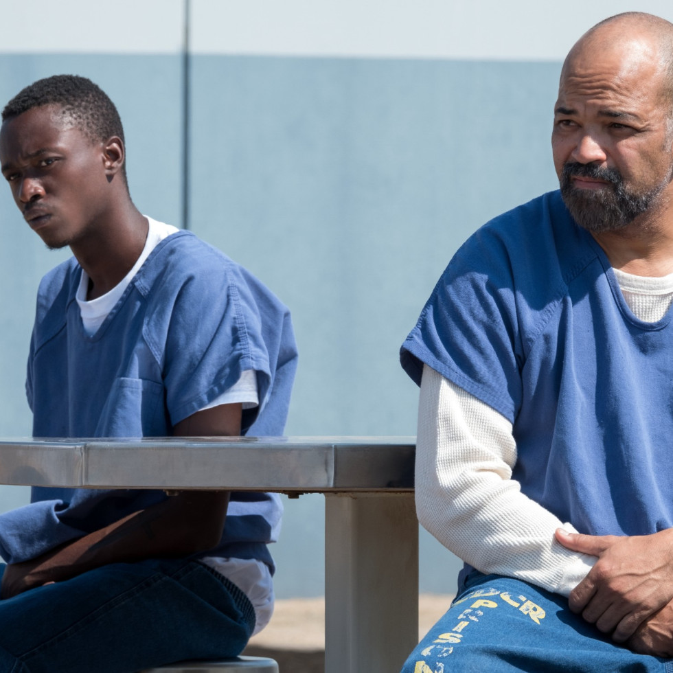 Ashton Sanders and Jeffrey Wright in All Day and a Night