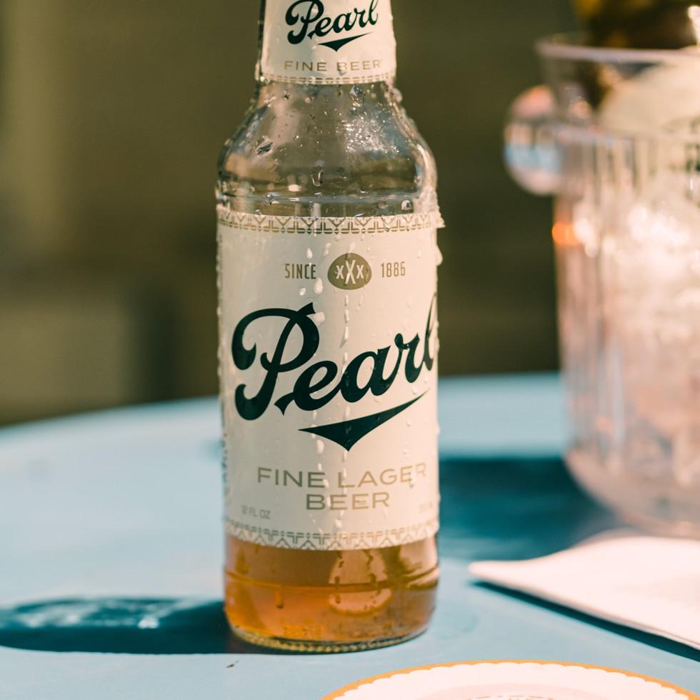 Pearl Beer new branding