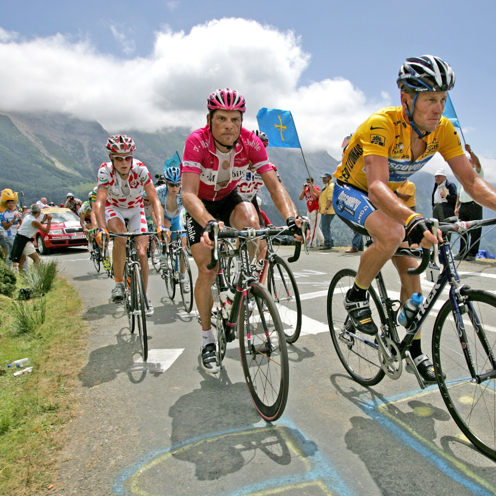 Jan Ullrich and Lance Armstrong