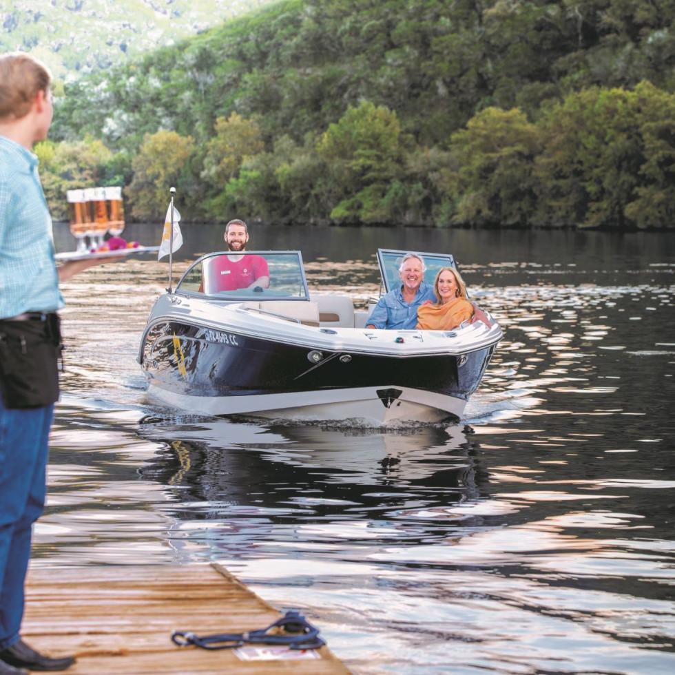 Lake Austin Spa water taxi