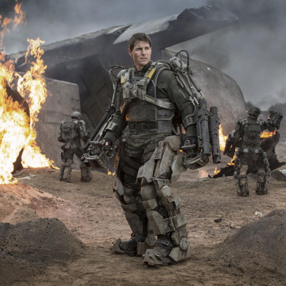 Tom Cruise in Edge of Tomorrow