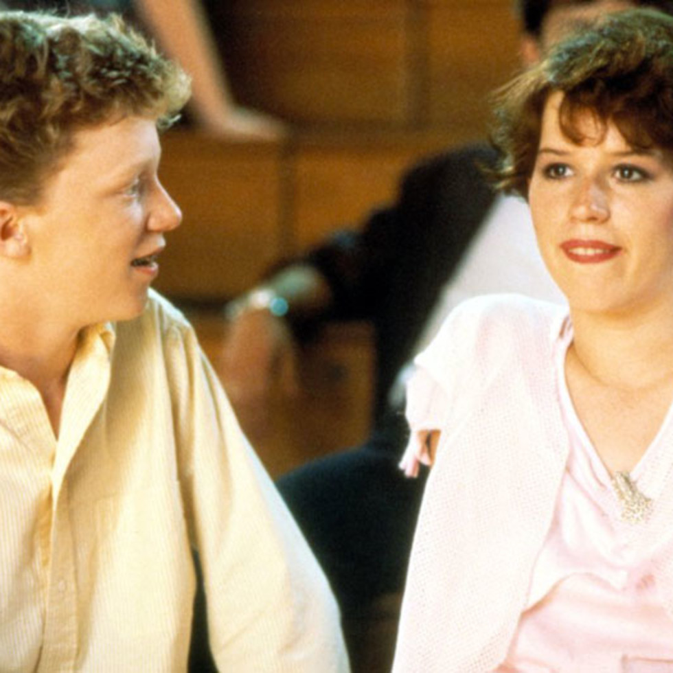 Anthony Michael Hall Molly Ringwald 16 Candles