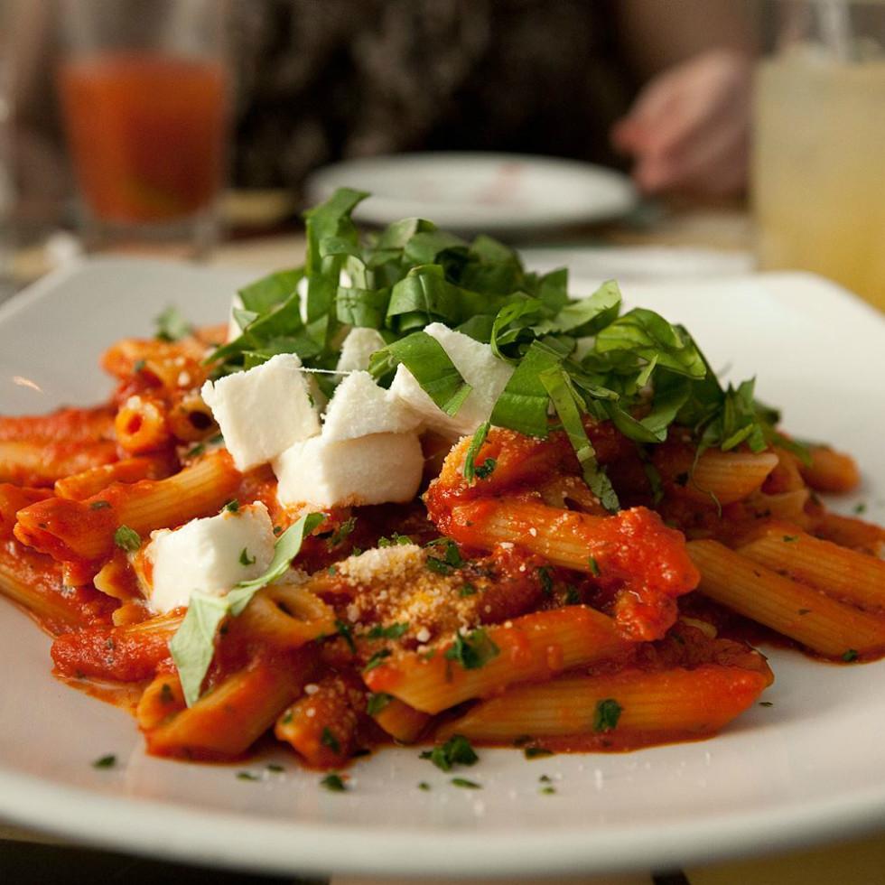 Penne Pomodoro, Pasta, Italian, Restaurant