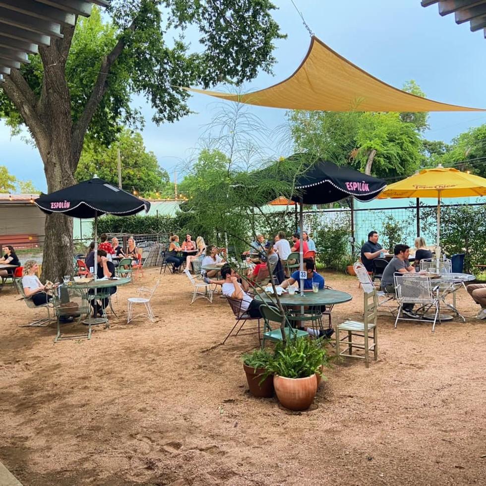kinda tropical patio