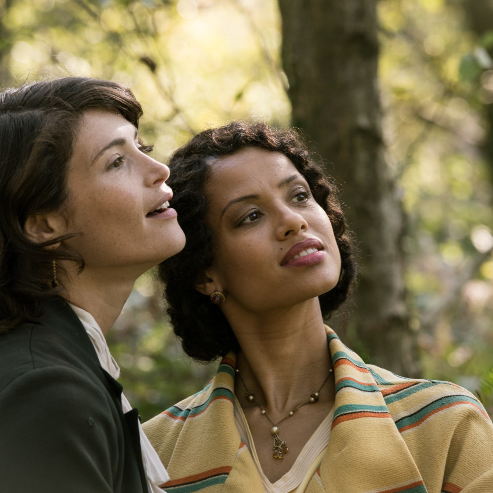 Gemma Arterton and Gugu Mbatha-Raw in Summerland