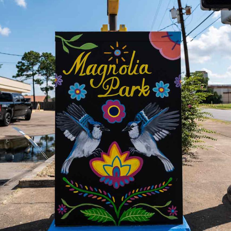 East End mural Magnolia Park