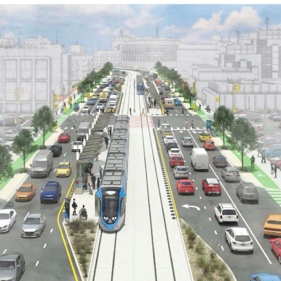 Project Connect split platform rail