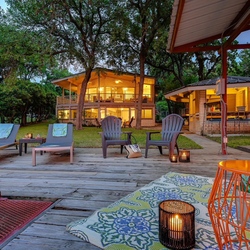 lake LBJ lodgewell rental near Austin