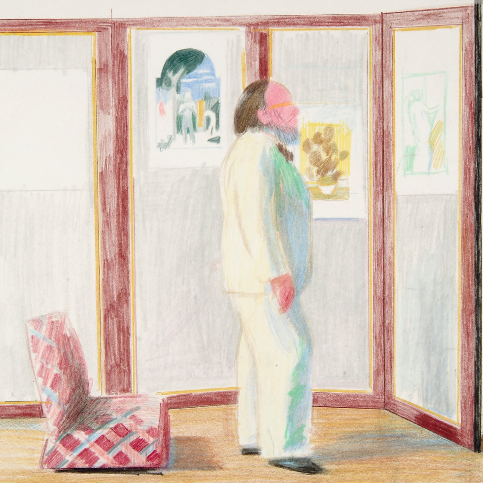 """McNay Art Museum presents """"Hockney to Warhol: Contemporary Drawings from the Collection"""""""