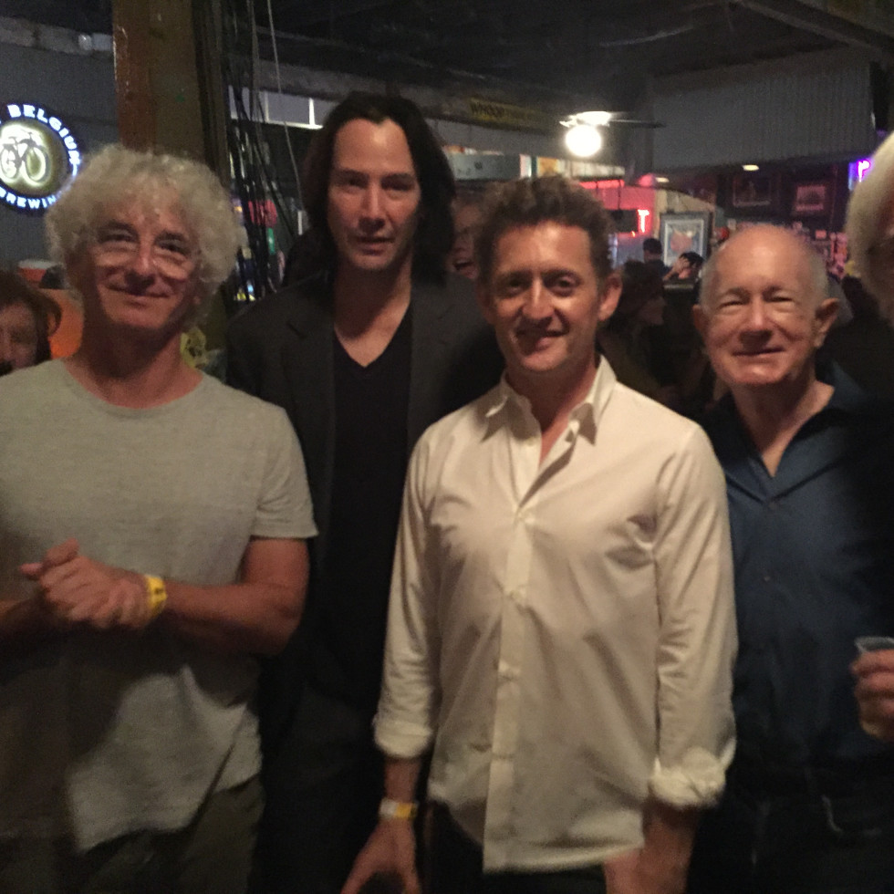 Ed Solomon Keanu Reeves Alex Winter Grant Guthrie Dean Parisot