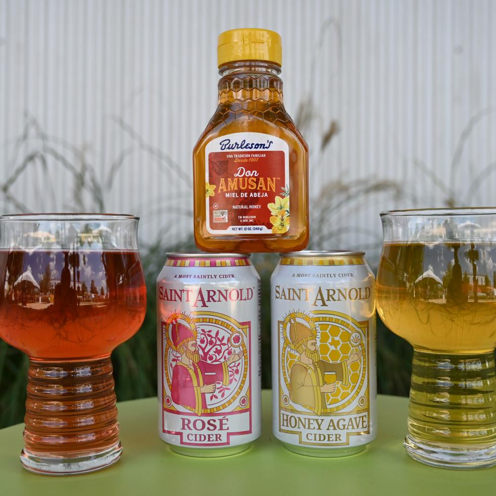 Rose Honey Agave Cider