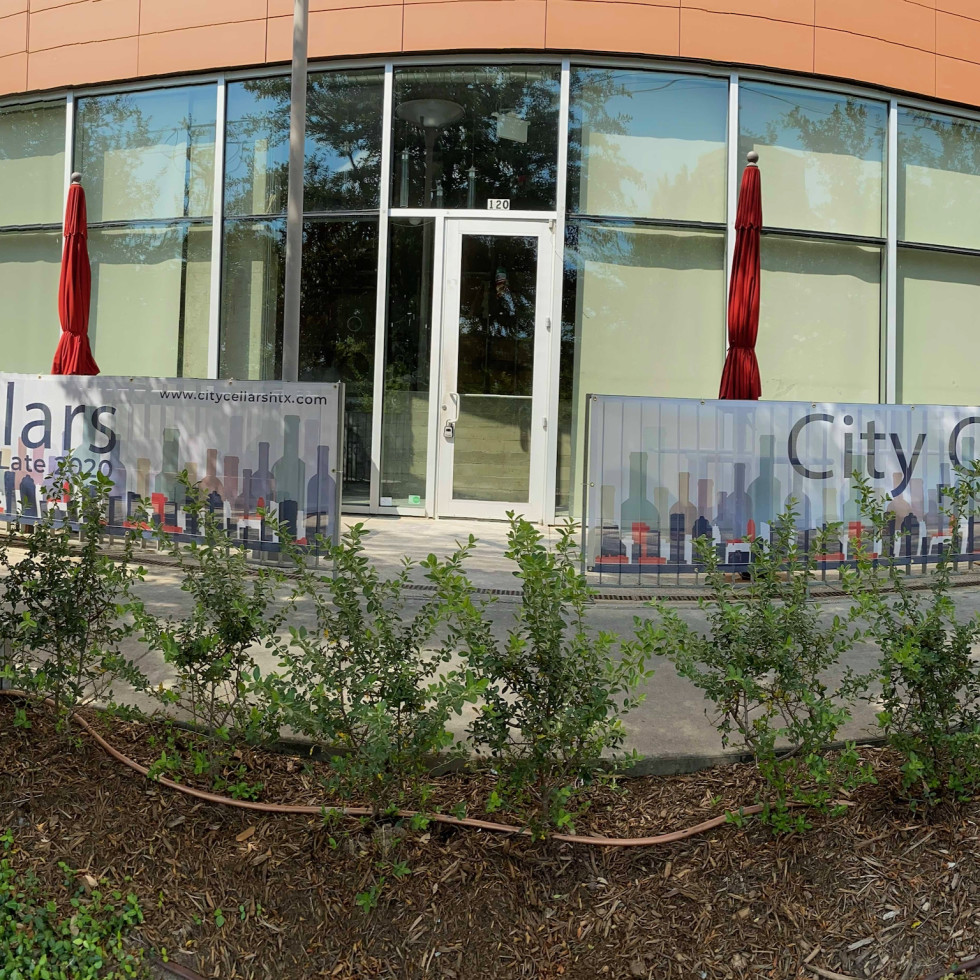 City Cellars exterior banner