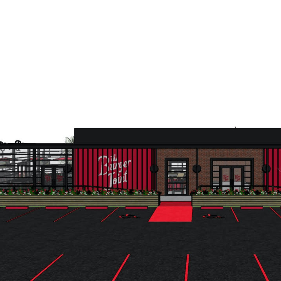 The Burger Joint Baybrook Webster rendering