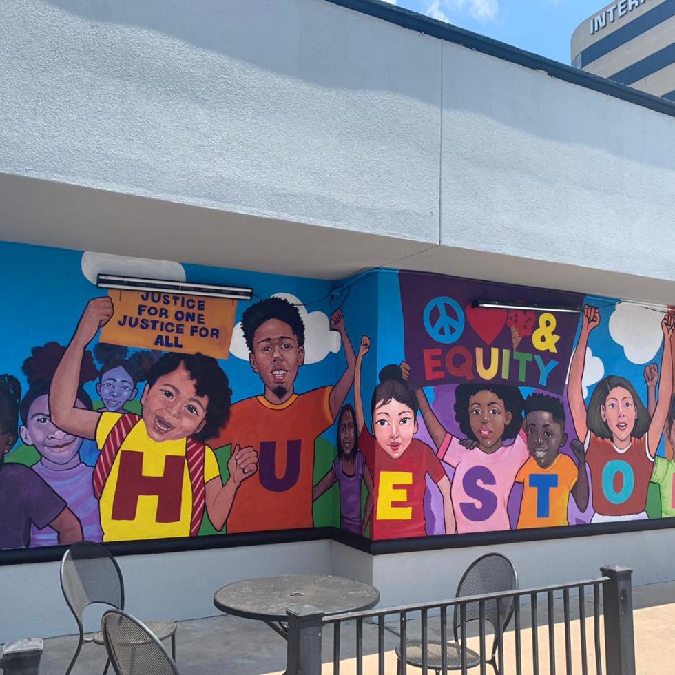 Ben & Jerry's social justice mural