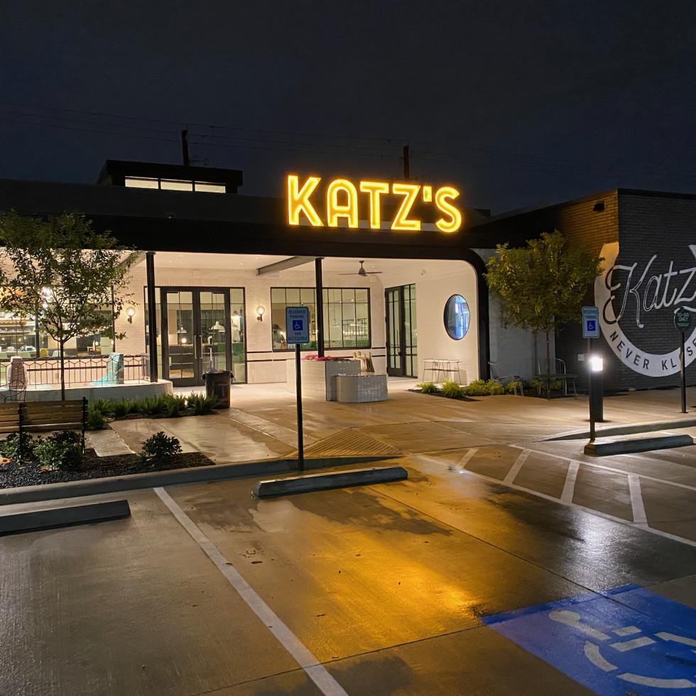 Katz's heights night exterior
