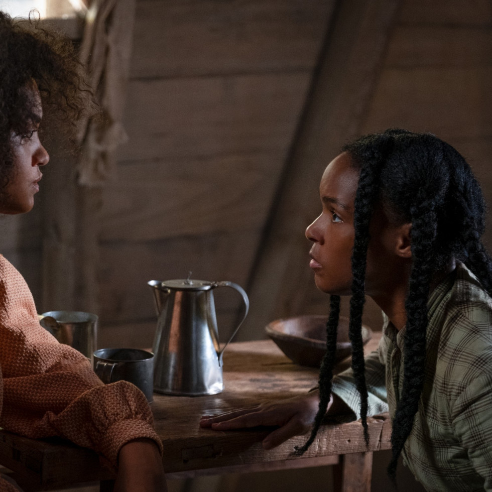 Kiersey Clemons and Janelle Monáe in Antebellum