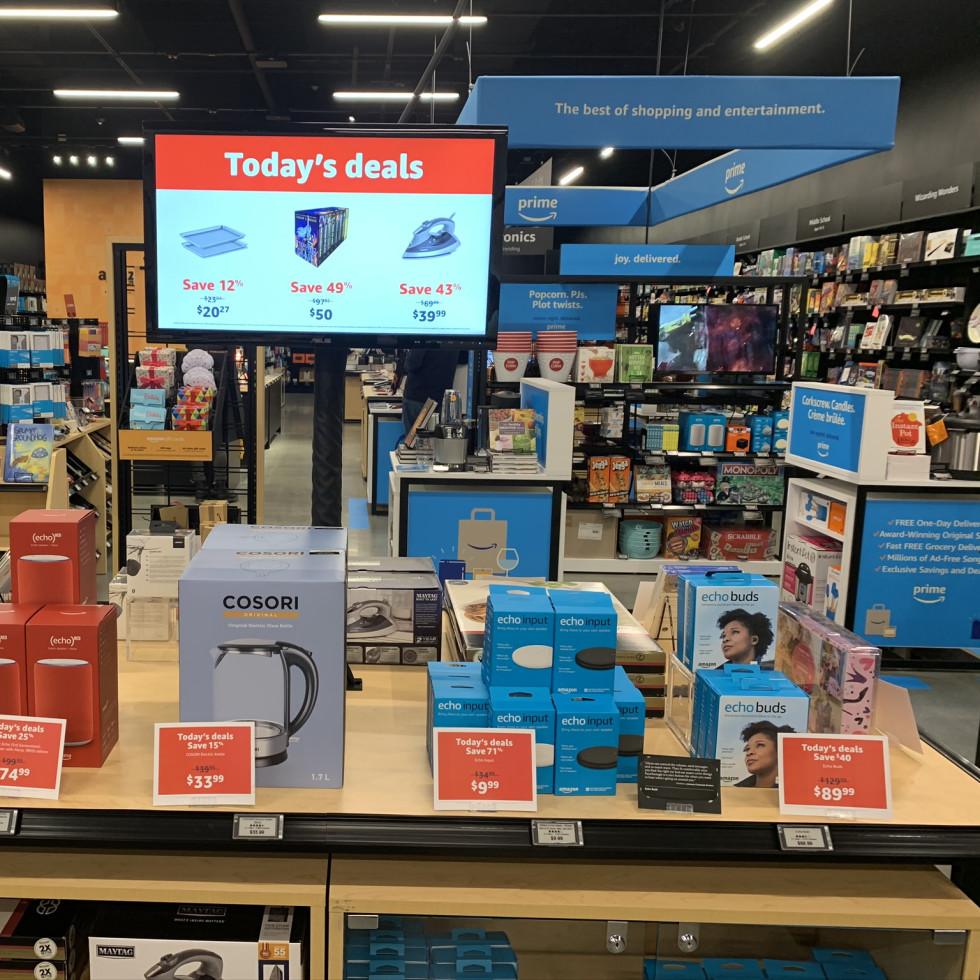 Amazon 4-Star Woodlands Houston store