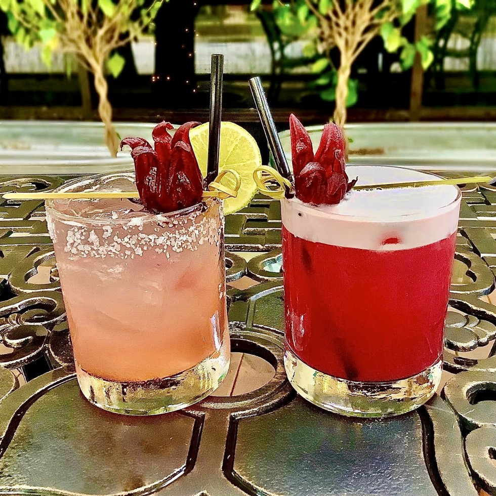 Pair of cocktails