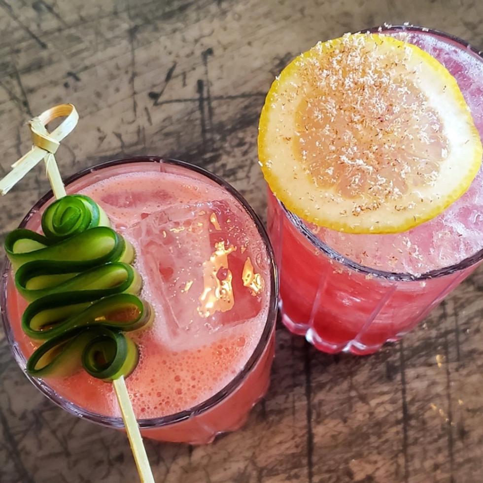 Wooster's Garden cocktails