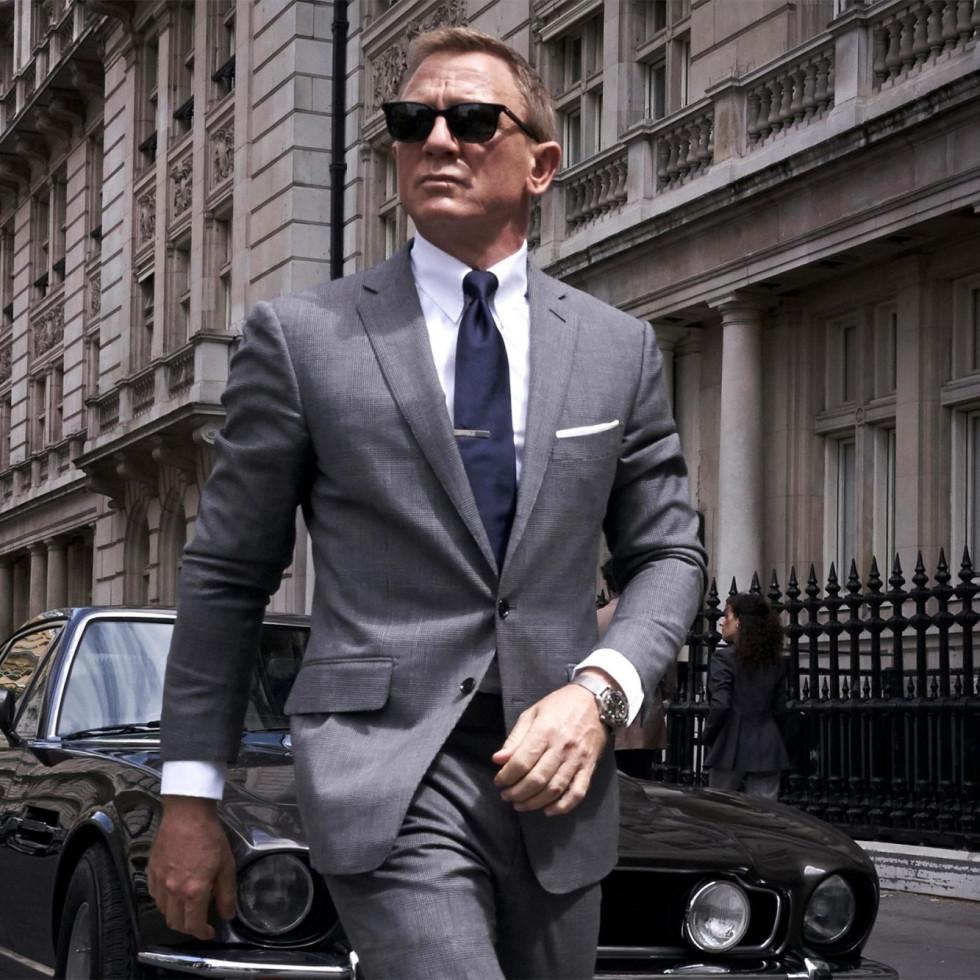 Daniel Craig No Time to Die promo shot MGM
