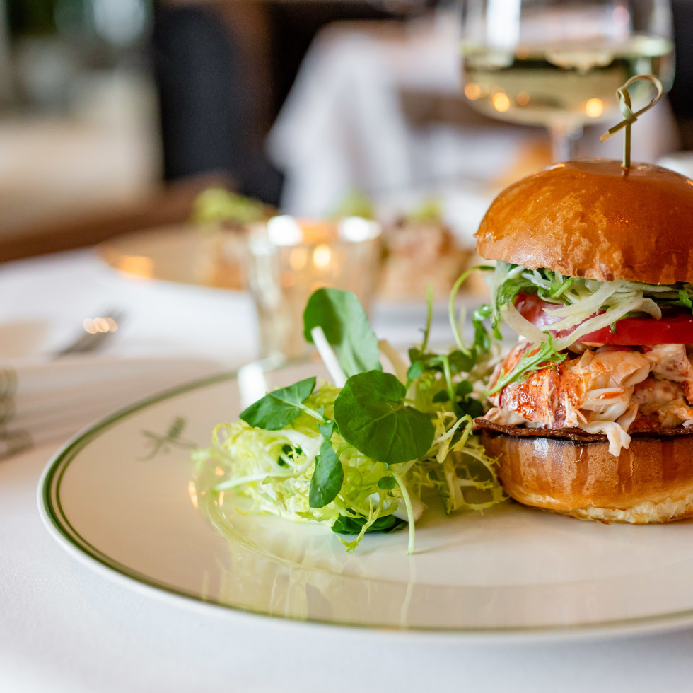 Cafe Annie lobster BLT