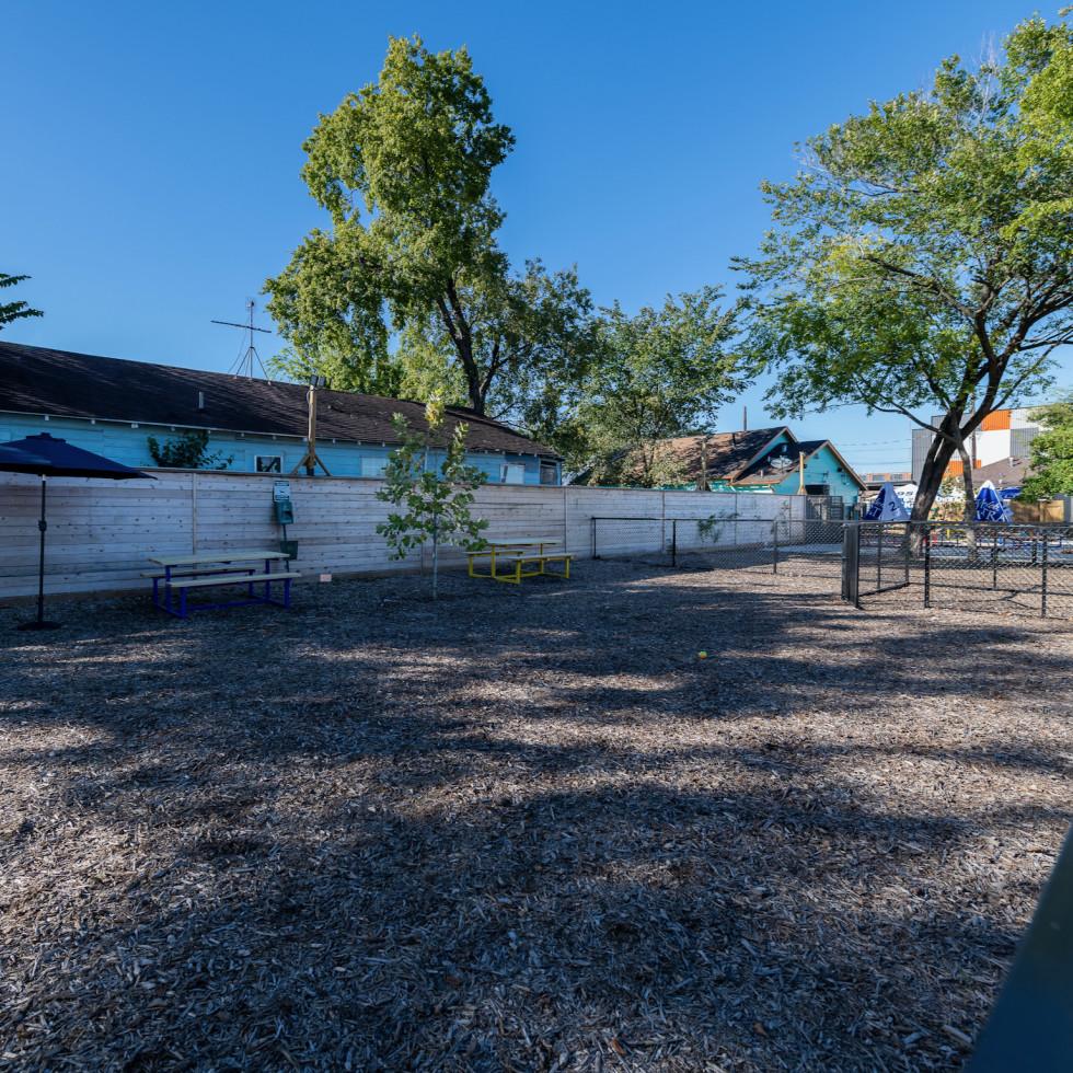 East End Backyard bar dog park