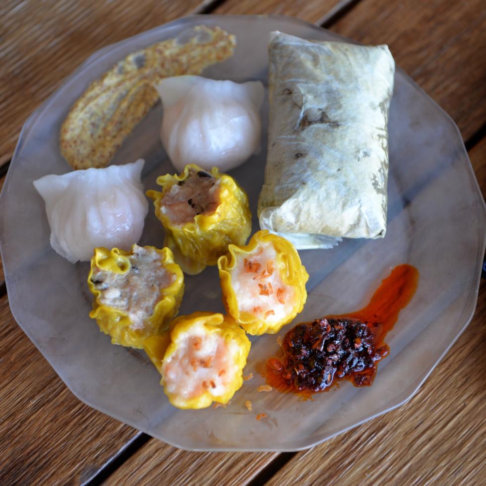 Phat Eatery dim sum platter