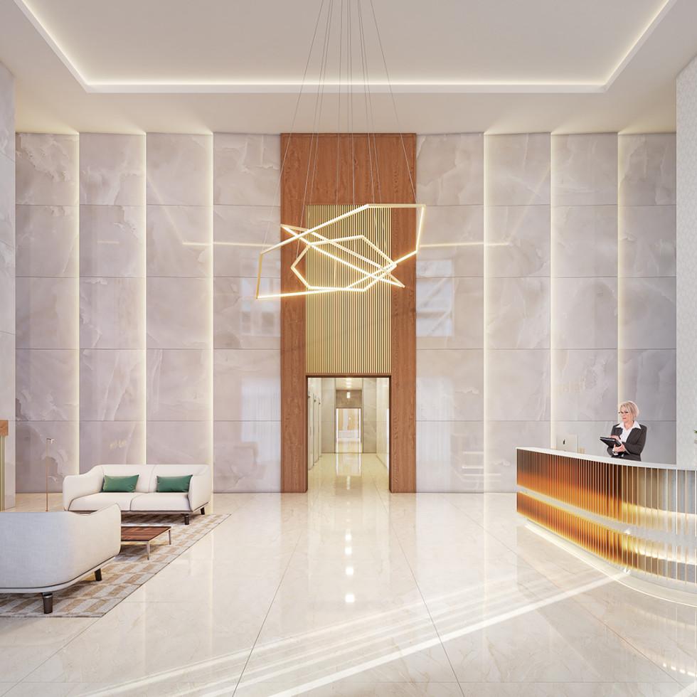 The Parklane lobby