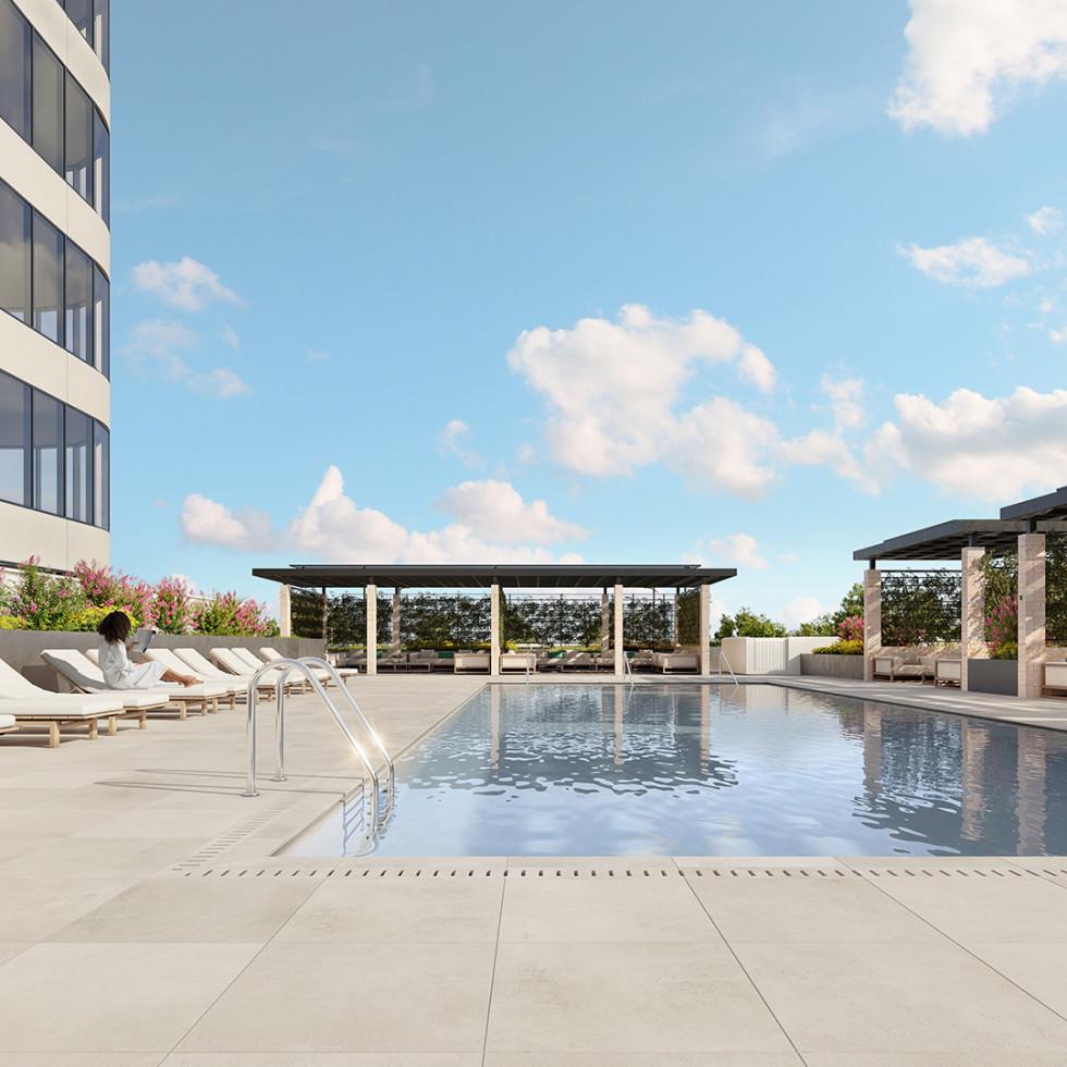 The Parklane pool