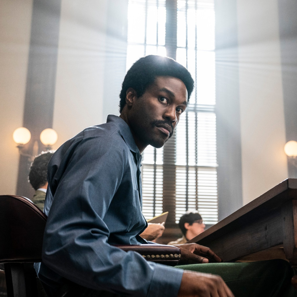 Yahya Abdul-Mateen II in The Trial of the Chicago 7