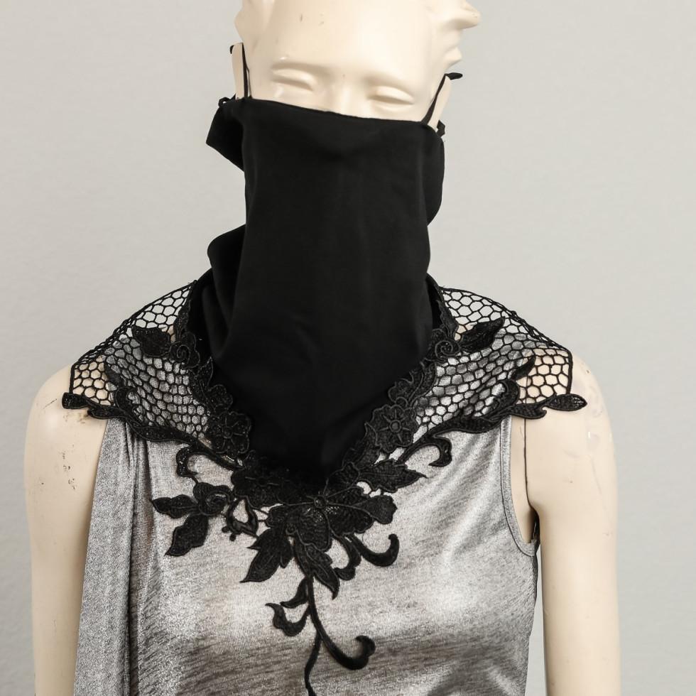 Erica La Flore mask, Fashion Meets Mask