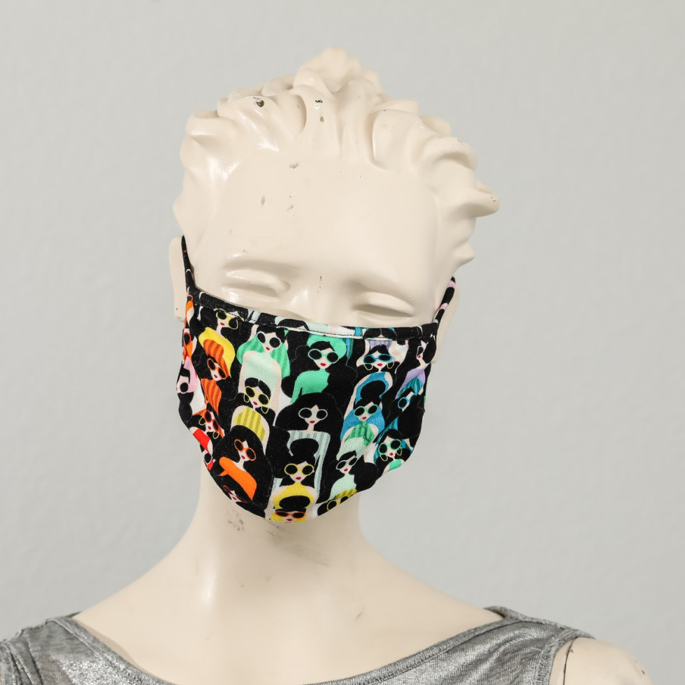 Alice and Olivia mask, Fashion Meets Mask