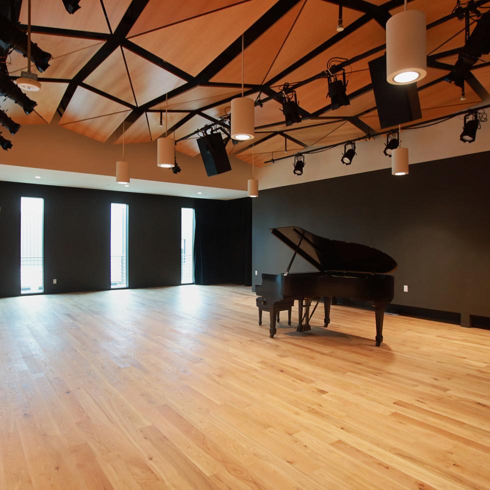 KMFA headquarters building studio draylen mason studio