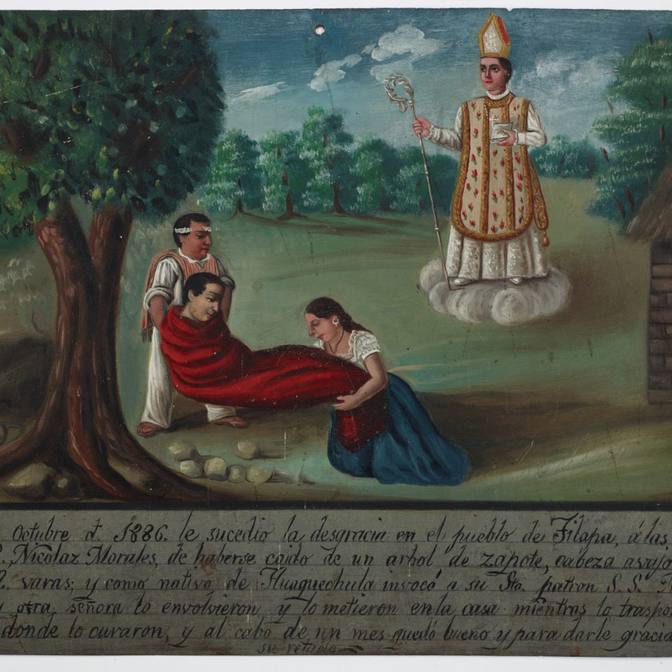 Ex-voto Dedicated to Saint Martin of Tours, 1886, Mexico