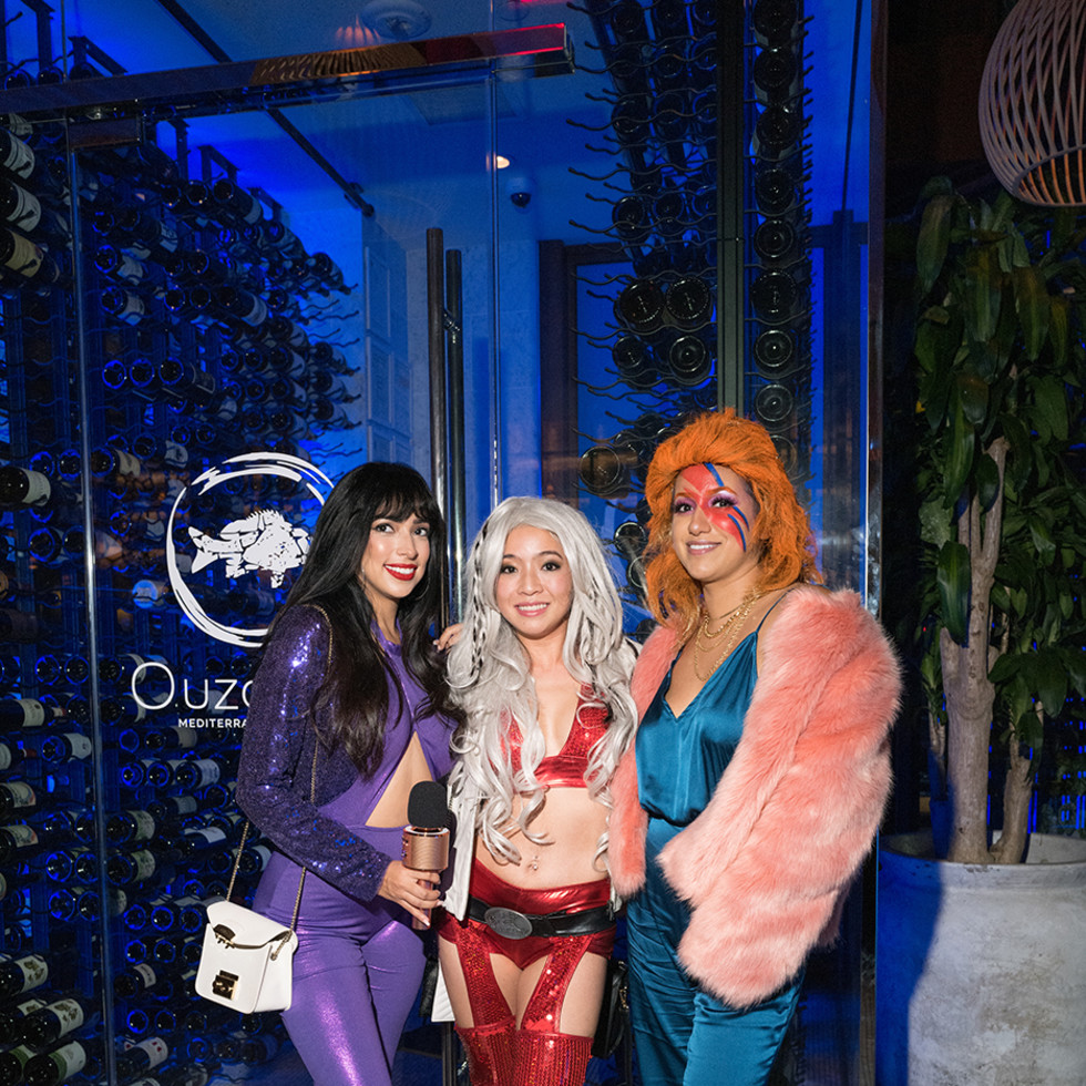 Loch Bar and Ouzo Bay Halloween 2020 Melinda Garcia, Amanda Nguyen, Jaqueline Za