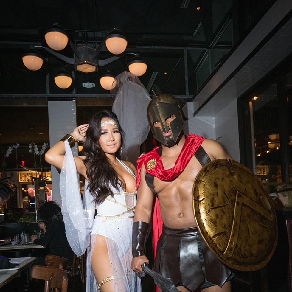 Loch Bar and Ouzo Bay Halloween 2020 Samantha Huang, Justin Henderson