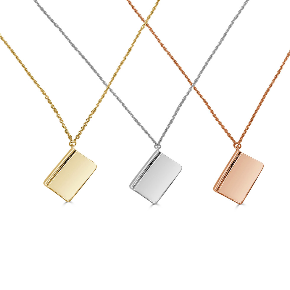 "Dubin's Fine Jewelry releases ""Book for a Book"" necklace"