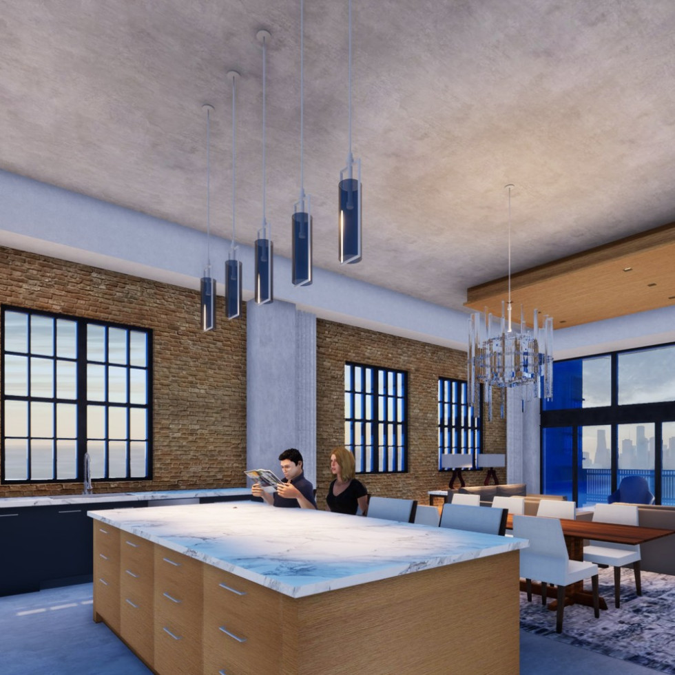 2520 Houston Ave., #608 Houston loft for sale