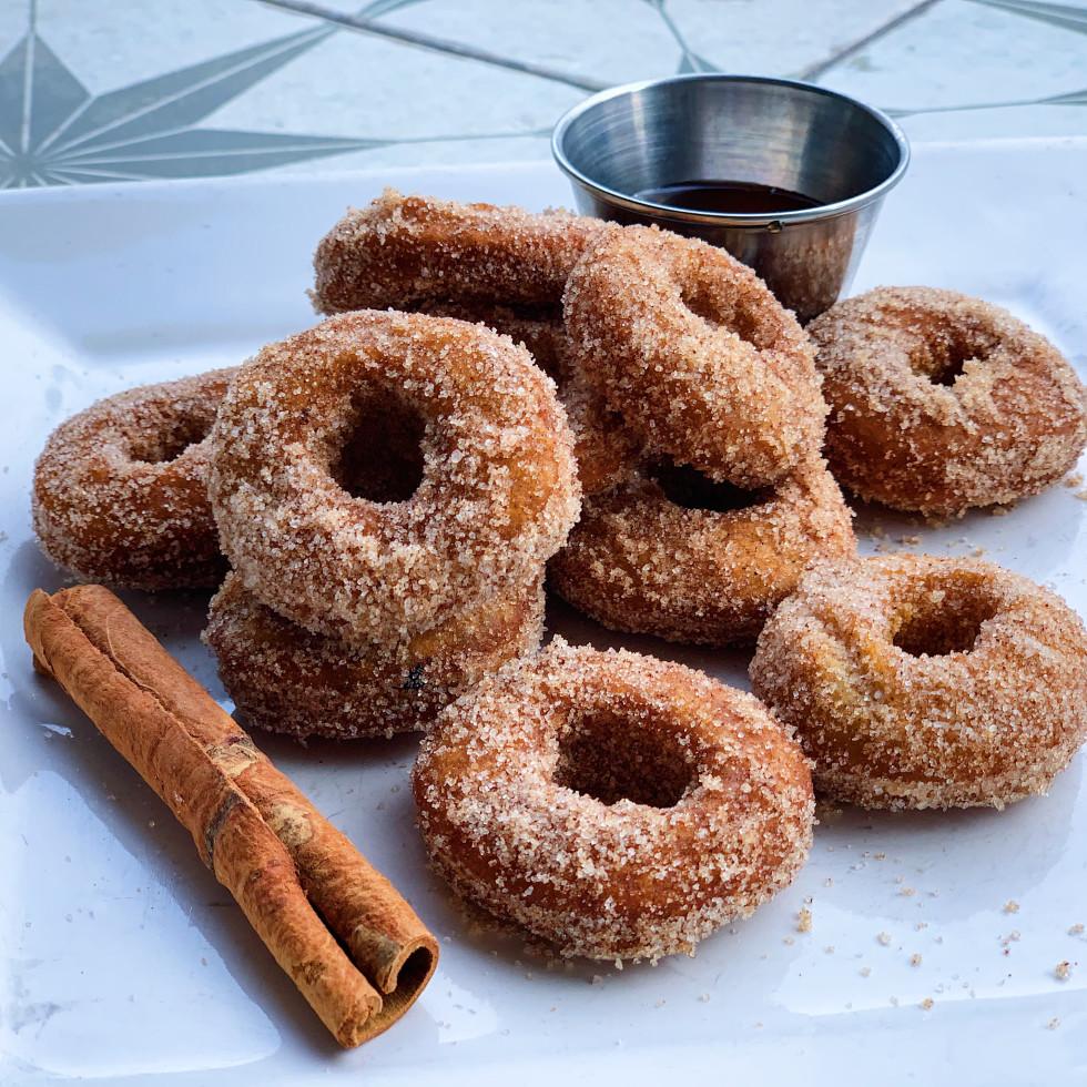 Adair Kitchen apple cider doughnuts