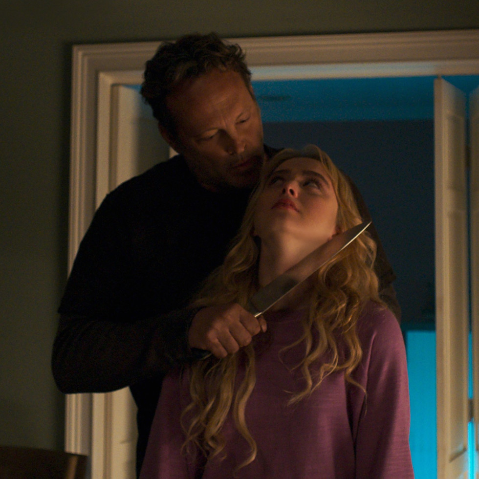 Vince Vaughn and Kathryn Newton in Freaky