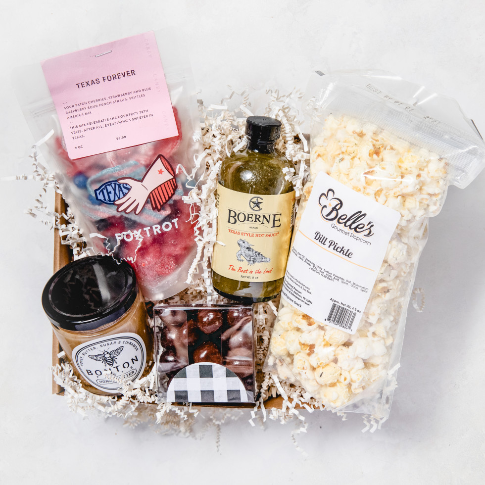 Texas foodies small gift basket