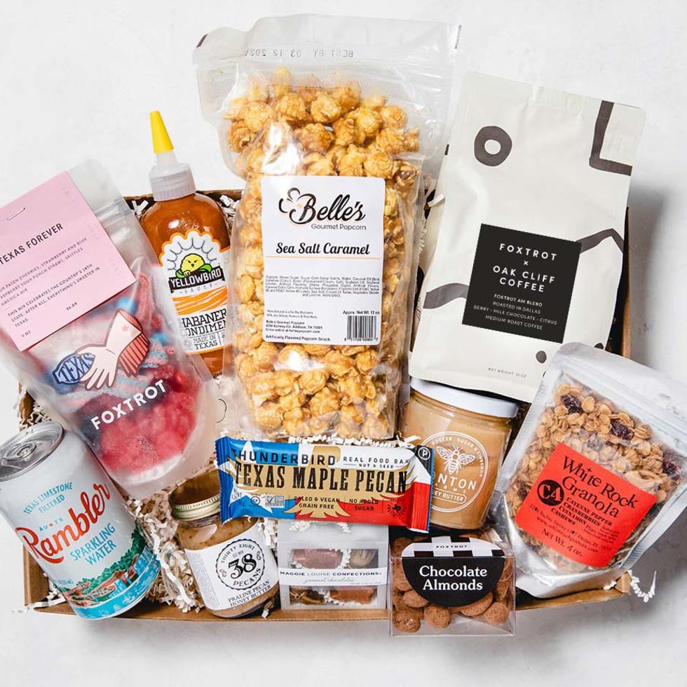 Texas foodies gift basket