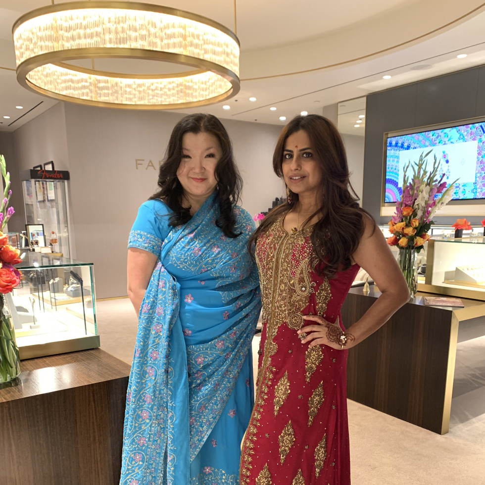 LCA Houston Faberge Diwali 2020 Yoon Smith Ruchi Mukherjee