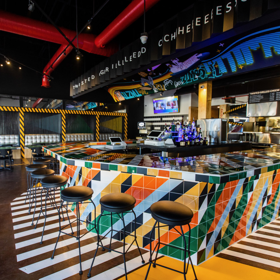 Twisted Grilled Cheese interior