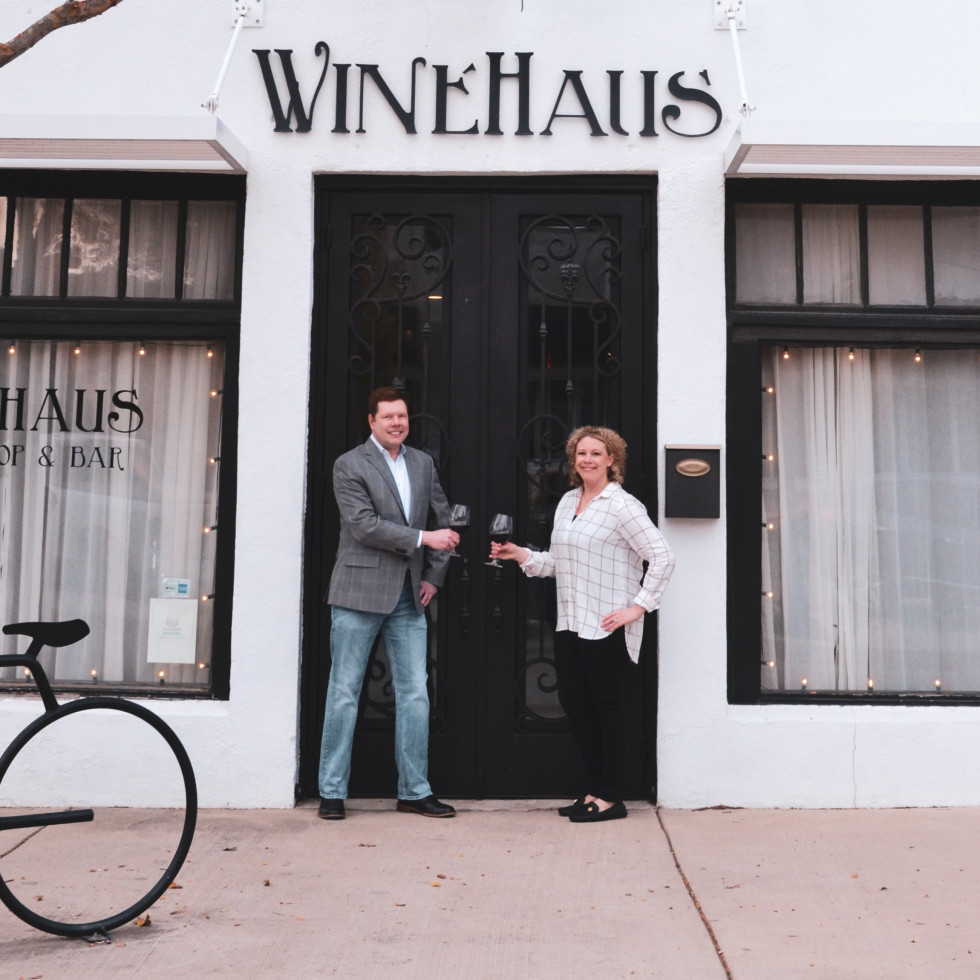 WineHaus, Robyn Davis, Dan Larrimore