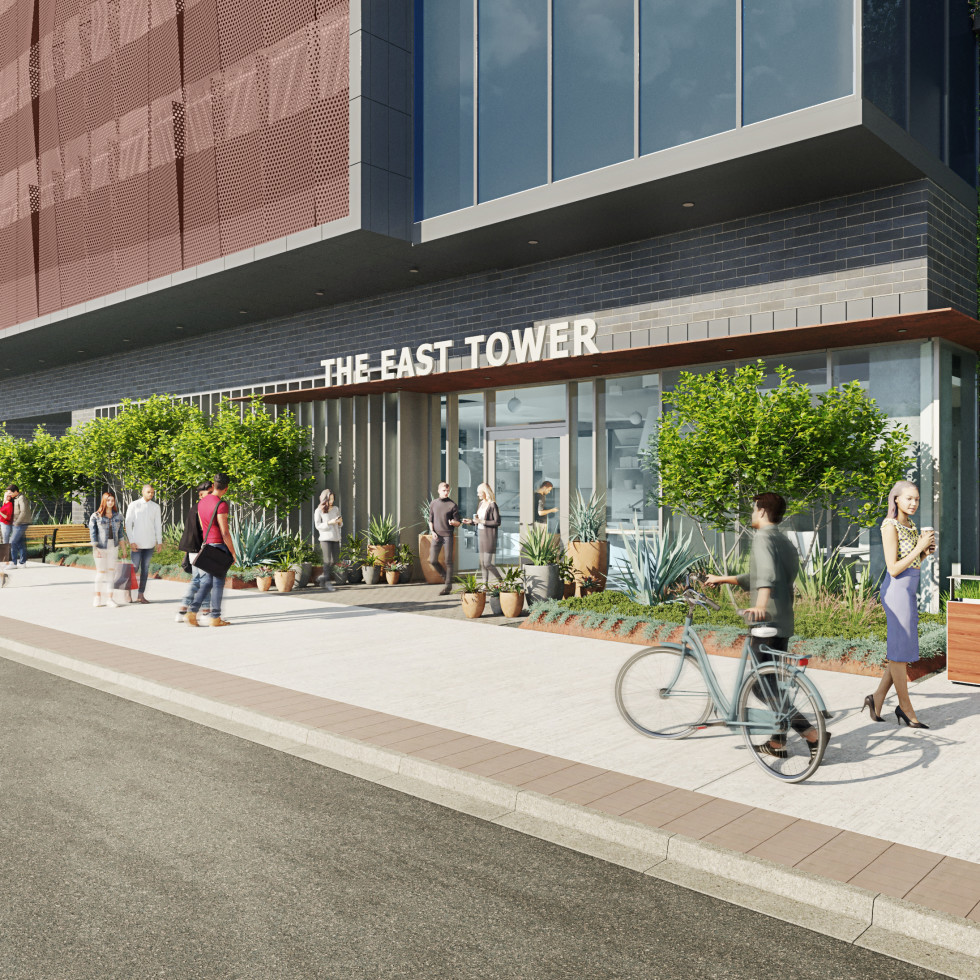 East Tower rendering