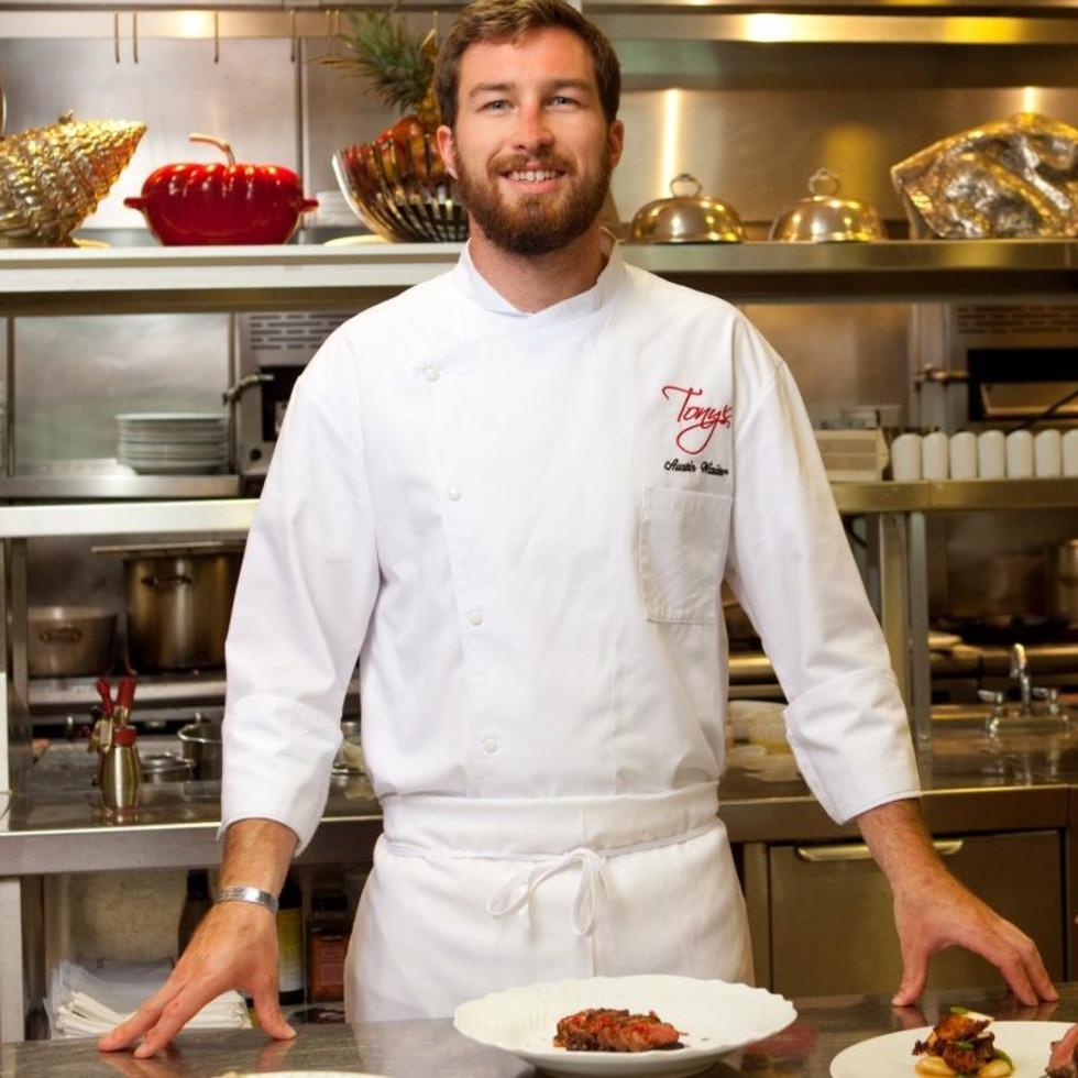 Tony's chef Austin Waiter
