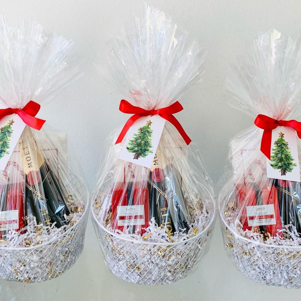 Perk holiday gift baskets