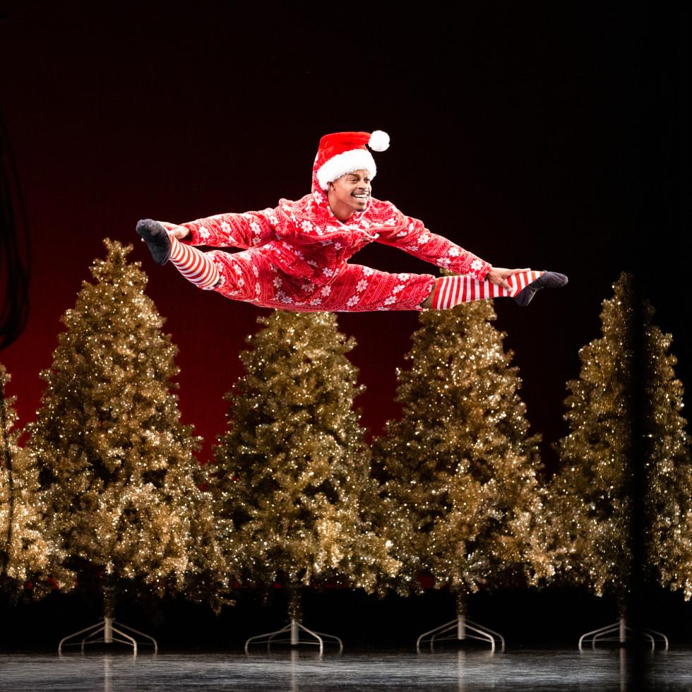 Houston Ballet: Nutcracker Sweets, HB Corps de Ballet dancer Naazir Muhammad